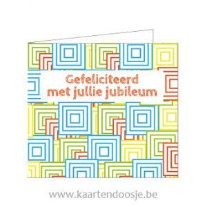 Wenskaarten jubileum kleuren