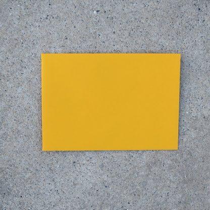 C6 envelop formaat 114x162 mm geel mango