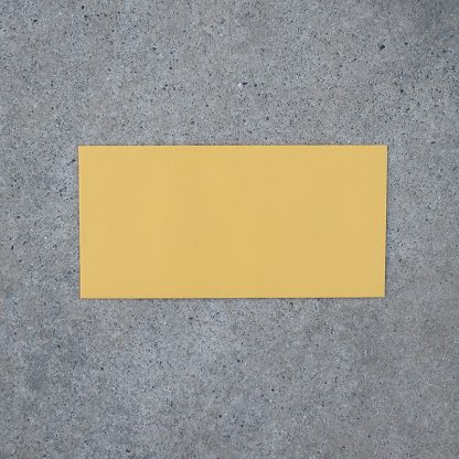 Envelop formaat 110x225 mm geel mango