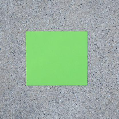 Vals vierkant envelop formaat 125x140 mm groen