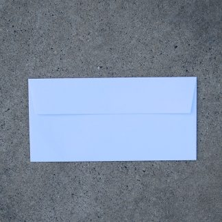 Envelop formaat 110x225 mm wit