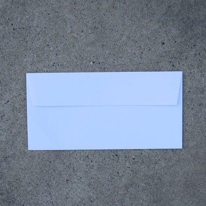 Envelop formaat 110x225 mm wit