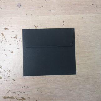 envelop zwart 140x125mm